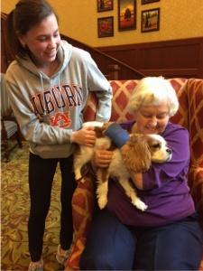 Lilydale Senior Living-Dog Visits