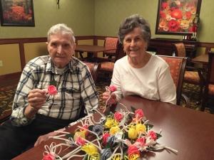 Lilydale Senior Living-Ribbon Rose Corsages