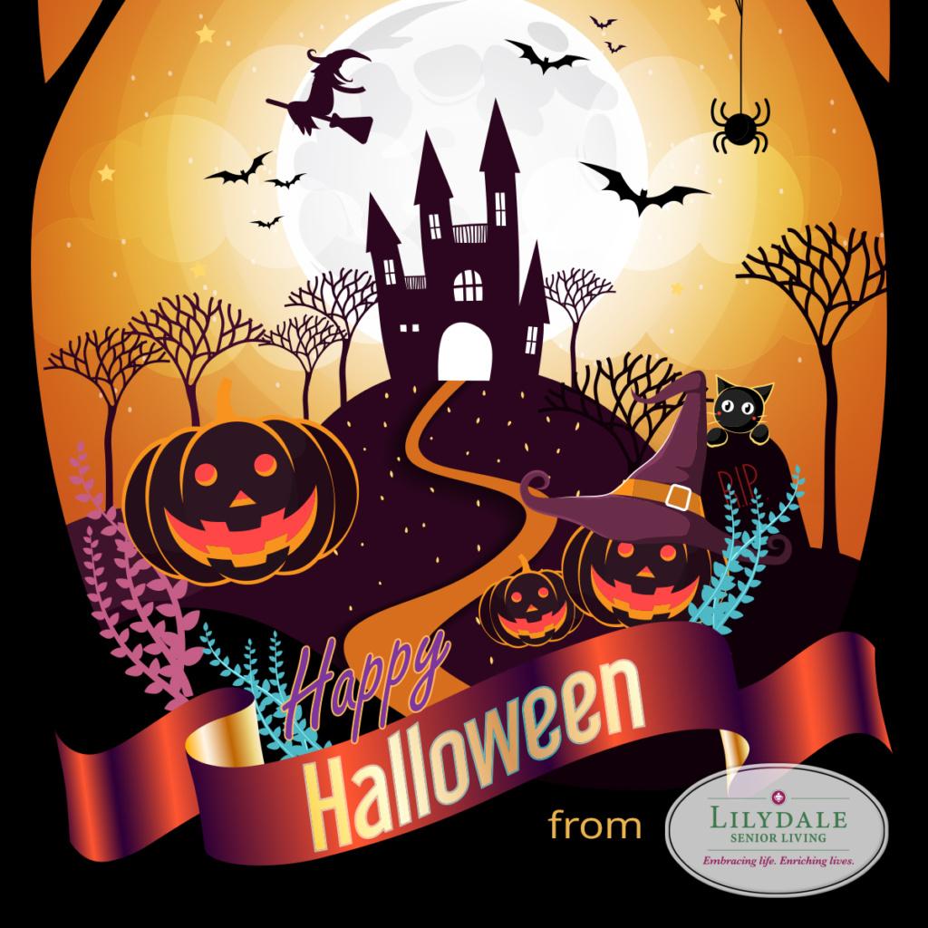 Happy Halloween-Lilydale Senior Living