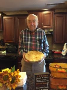 Applefest Party-Lilydale Senior Living-Delicious apple pies