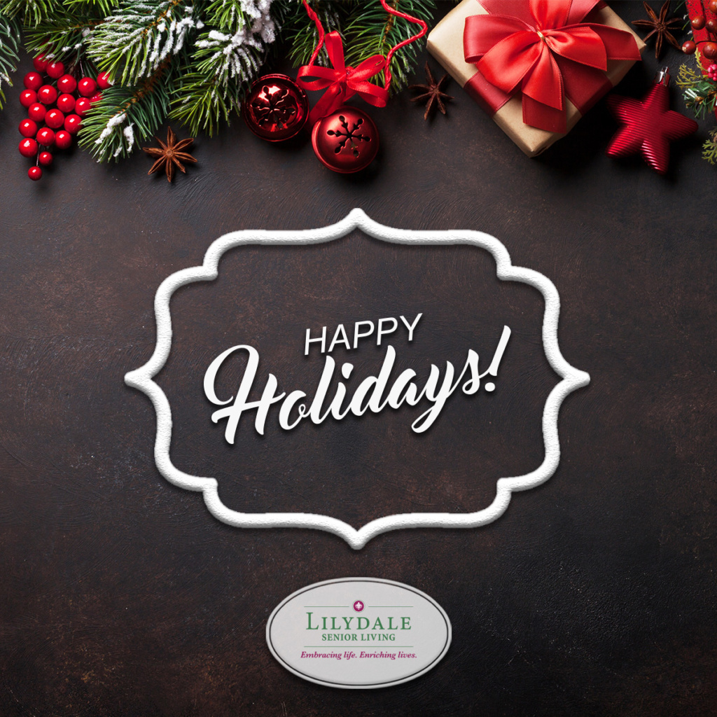 Happy Holidays from Lilydale Senior Living