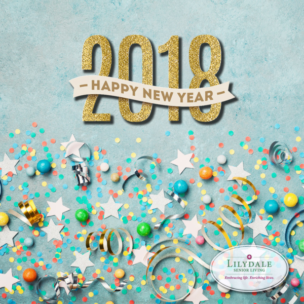 Happy New Year from Lilydale Senior Living