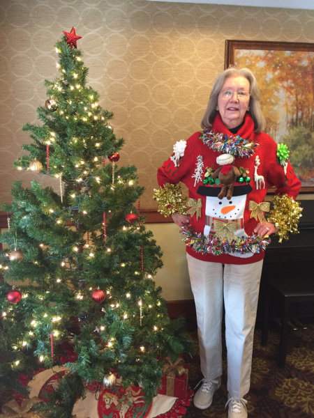Ugly Christmas Sweater Lilydale Senior Living