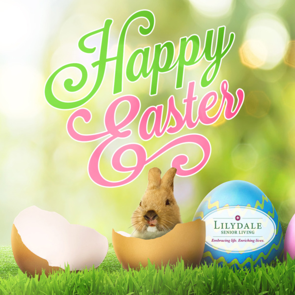 Have a very Hoppy Easter from Lilydale Senior Living