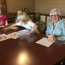 St. Paul Academy visits Lilydale Senior Living