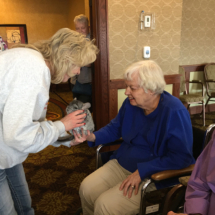 Animal Ambassadors Visit Lilydale Senior Living