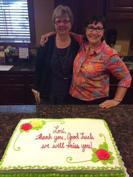 Robin and Lori at Lilydale Senior Living