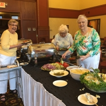 BBQ at Lilydale Senior Living