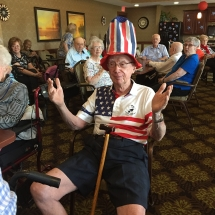 July 4th at Lilydale Senior Living (5)