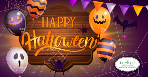 Happy Halloween from Lilydale Senior Living