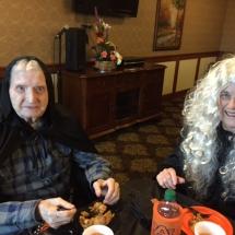 lilydale senior living, halloween 2016