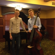 L'Ambizioso Duo-Lilydale Senior Living-brother duo with bass instrument