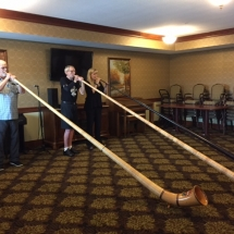 Alphorn Performance-Lilydale Senior Living-retired and current MN Orchestra performers