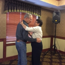 Birthday Party-Lilydale Senior Living-a couple dancing