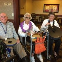 Drumming-Lilydale Senior Living-Tenants joining in the drumming