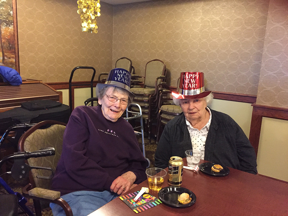 New Year's Eve Party | Lilydale Senior Living